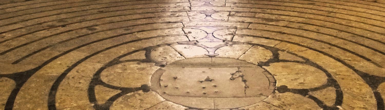Chartres Reisen Labyrinth