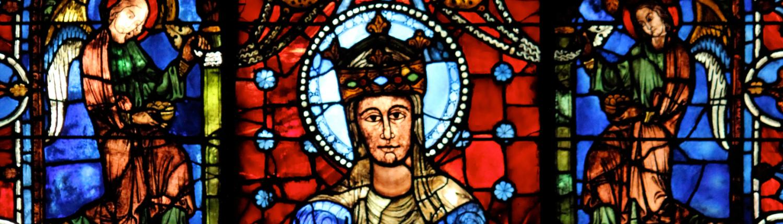 Chartres Reisen Blaue Madonna