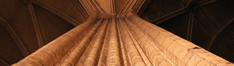 Chartres Reisen, Blick in das Vierungsgewölbe